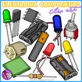 Electronic Components Clip Art (including circuit symbols)