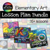 Elementary Art Lesson Plan Bundle (24 lessons)