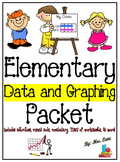 Elementary Data and Graphing Packet (SUPER JAM-PACKED!)