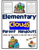 Elementary Clouds Parent Handouts (Help At Home)