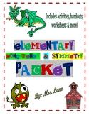 Elementary Congruency & Symmetry Packet (JAM-PACKED!)
