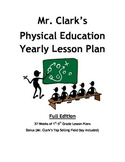 Physical Education Yearly Plans Bundled