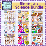 Elementary Science Clip art Bundle