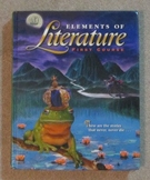 Elements of Literature First Course by Holt, Rinehart, Winston