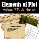 Elements of Plot: Instructional Video, PowerPoint, and Stu