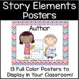 Elements of a Story & Author/Illustrator Poster Pack