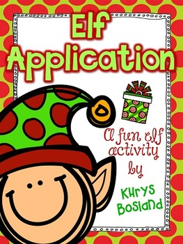 Elf Application, Elf ID Cards, and {Editable} Letter from Santa - Elf Fun!