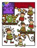 Elf Christmas Party {Creative Clips Digital Clipart}