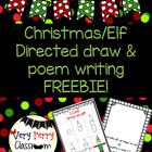 Elf Directed Draw and Poem FREEBIE!