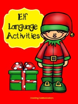 Elf  Speech & Language Activities
