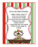 Elf on a Shelf Printable