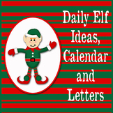 Elf on the Shelf Ideas and Letters - Christmas Elf Printables