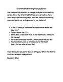 Elf on the Shelf Writing Prompts/Center