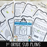 Sub Plan Packet - First Grade: Math & English Language Art