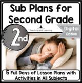 Emergency Sub Plans for 2nd-3rd-Grade Teachers