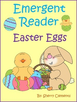 Emergent Reader: Easter Eggs (sight words: I, see, number