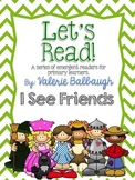 Emergent Reader - I See - Wizard of Oz theme