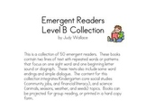 Emergent Reader Level B Collection
