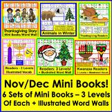 Emergent Readers for November & December BUNDLE - Save $5.00!