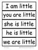 Emergent Sight Word Phrase Cards