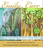 Emily Carr Inspired Art lesson Plan