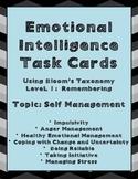 Emotional Intelligence Task Cards Using Bloom's Level 1, T