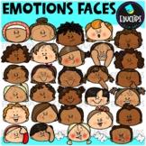 Emotions ~ Faces Clip Art Bundle