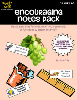 Encouraging Gift Notes for Testing or Any Occasion