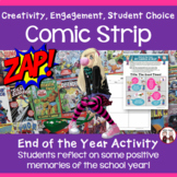 End of the Year Activities: Students Create a Comic Strip