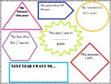 End of School Year Fun Worksheet