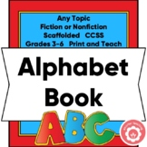 Alphabet Book: Writing