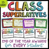 End of Year Awards Classroom Superlatives Positive for ALL
