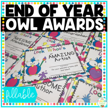 End of Year Awards: Owls