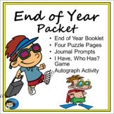 End of Year Packet of Student Activities