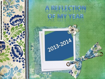 End of Year Reflection Yearbook