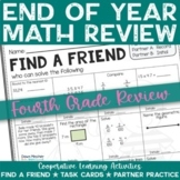 End of the School Year: Math Review of Grade 4 Concepts -