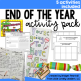 End of the Year Activities Packet