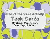 End of the Year Activity Task Cards!
