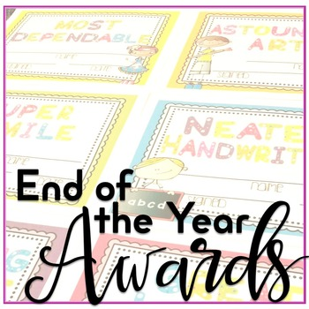 Awards - End of the Year Awards {EDITABLE}