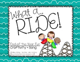 End of the Year Craft + Song {What A Ride!}