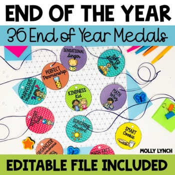 End of the Year Medals