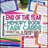End of the Year Memories Task Cards { End of the Year Acti