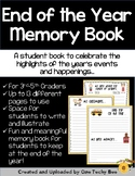 End of the Year Memory Book for 3rd-5th Graders