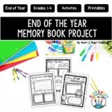 End of the Year Memory Keepsake & Scrapbook