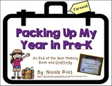 End of the Year - Packing Up My Year in Pre-K Memory Book