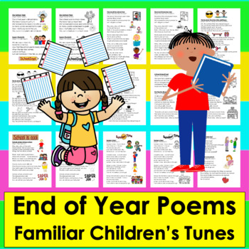 End of the Year Poems and Songs - Shared Reading and Fluency