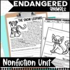 Endangered Animal Unit: Common Core Aligned