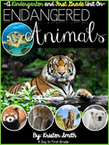 Endangered Animal Unit- for kindergarteners and first graders