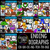 Ending Digraph Mega Bundle {Creative Clips Digital Clipart}