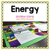Energy Board Game - Potential - Kinetic - Transformations